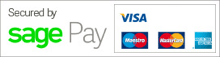We accept all major credit, debit and charge cards.