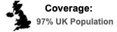 Excellent UK coverage